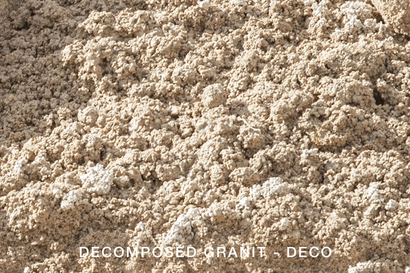 Decomposed Granit