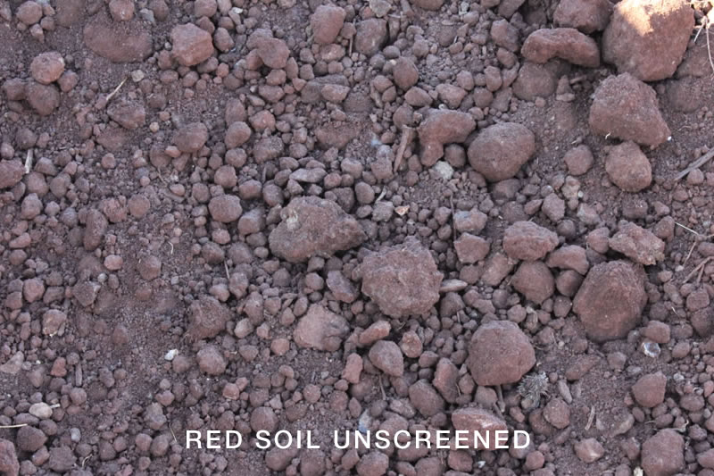 Red Soil Unscreened